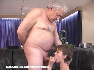 cock  girl  grandpa