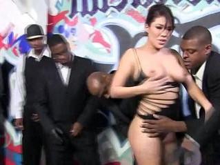 banged  cock sucking  interracial