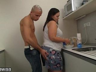 cock  fat  grandma