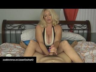 cock  handjob  mommy
