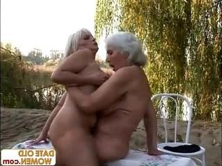 blonde  gilf  lesbian