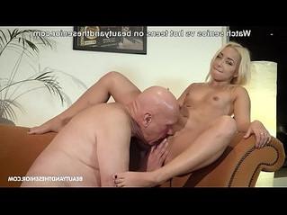 blonde  fetish  footjob