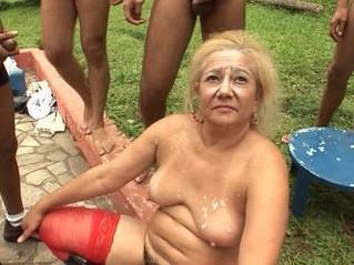 gangbang  gilf  grandma