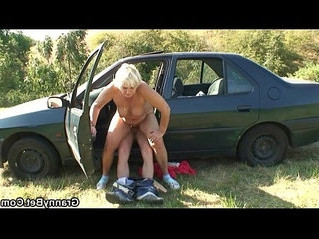 banged  grandma  taxi