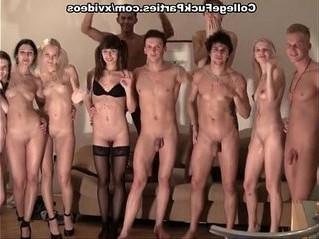 orgy  party  striptease