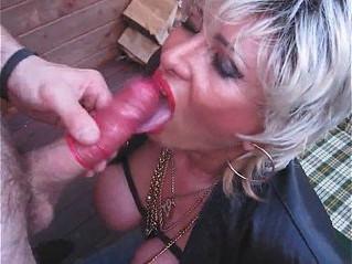 blonde  busty  dick