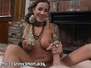 busty  cock sucking  mother