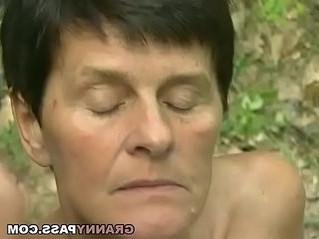 gilf  older woman  pussy