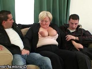 3some  gilf  lady