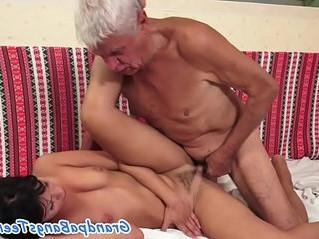 banged  european  old man