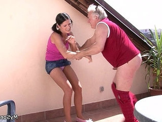 doggy  fuck  old man