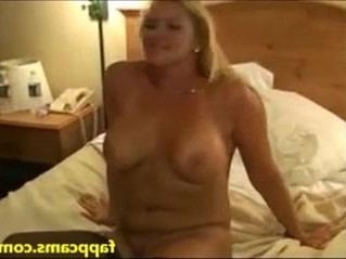 blonde   creampie   double