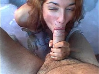 blowjob   old and young   pool
