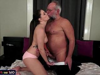 cock  grandpa  riding