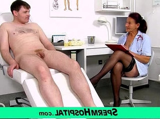 cum on tits   doctor   stockings